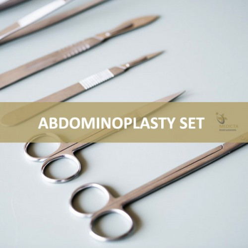 Abdominoplasty Set / Abdominal Surgery Instruments Set